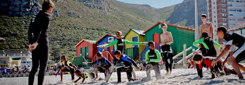 Surf project in Zuid-Afrika
