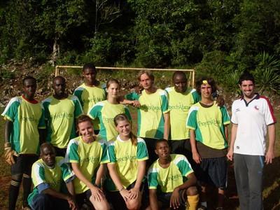 Lokale voetbal elftal