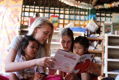Vrijwilligerswerk in het buitenland voor scholieren in de zomer