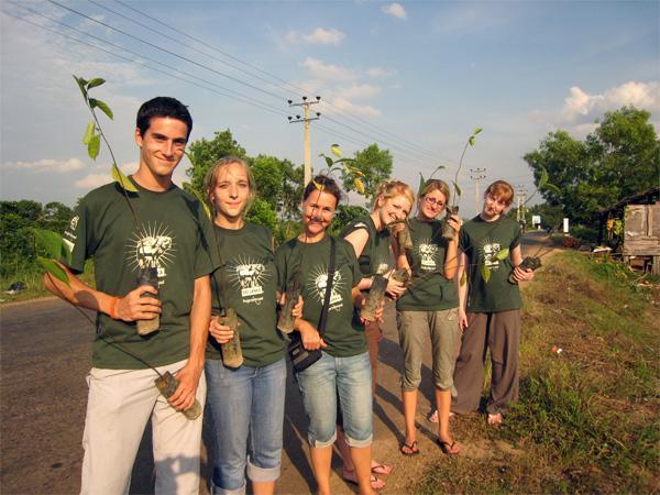 Vrijwilligerswerk met groep in buitenland